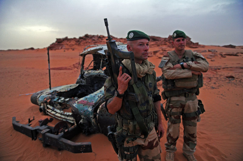 2e REP - Niger 2015 - Sahara 2015 - Operation Berkhane - legion