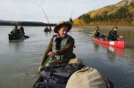 Photo d'illustration du reportage En canoë au gré de la Yukon River.