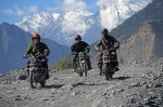 Photo d'illustration du reportage A l'assaut de l'Himalaya en Royal Enfield.